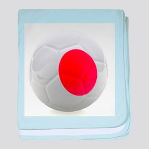 Japan World Cup Ball baby blanket