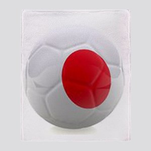 Japan World Cup Ball Throw Blanket