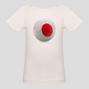 Japan World Cup Ball Organic Baby T-Shirt