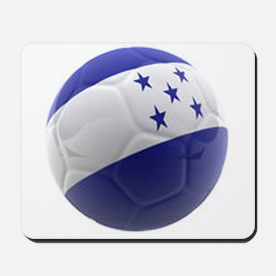 Honduras World Cup Ball Mousepad