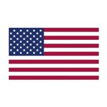 American Flag 35x21 Wall Decal