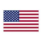 American Flag 20x12 Wall Decal