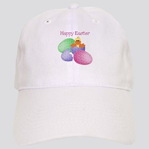 Happy Easter (ducky/easter eggs) Cap