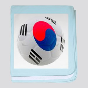 South Korea world cup soccer ball baby blanket