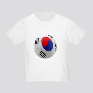 South Korea world cup soccer ball Toddler T-Shirt
