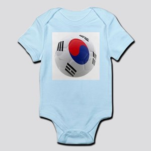 South Korea world cup soccer ball Infant Bodysuit