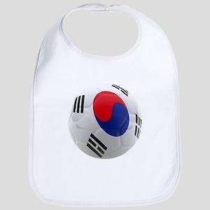 South Korea world cup soccer ball Bib
