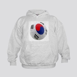 South Korea world cup soccer ball Kids Hoodie