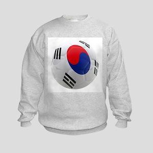 South Korea world cup soccer ball Kids Sweatshirt