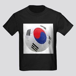 South Korea world cup soccer ball Kids Dark T-Shir
