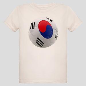 South Korea world cup soccer ball Organic Kids T-S