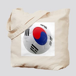 South Korea world cup soccer ball Tote Bag