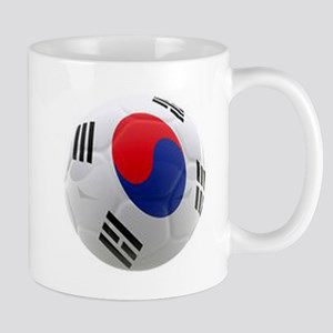 South Korea world cup soccer ball Mug