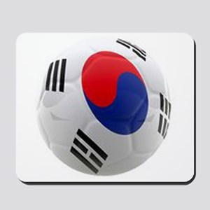 South Korea world cup soccer ball Mousepad