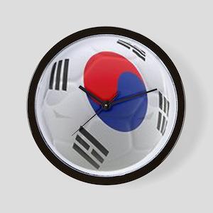 South Korea world cup soccer ball Wall Clock
