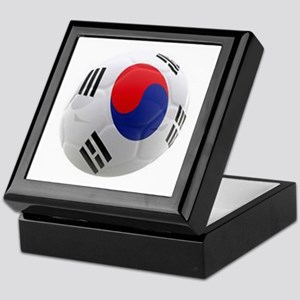 South Korea world cup soccer ball Keepsake Box