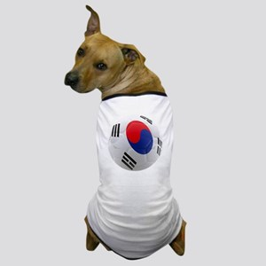 South Korea world cup soccer ball Dog T-Shirt