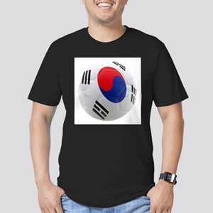 South Korea world cup soccer ball Men's Fitted T-S