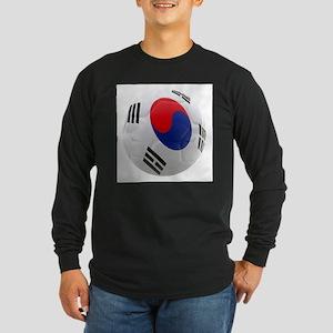 South Korea world cup soccer ball Long Sleeve Dark