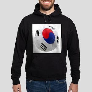 South Korea world cup soccer ball Hoodie (dark)