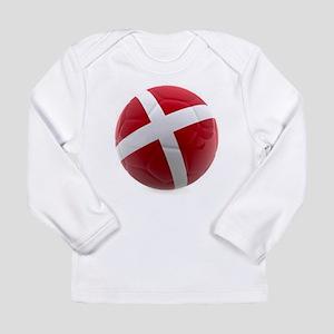 Denmark World Cup Ball Long Sleeve Infant T-Shirt