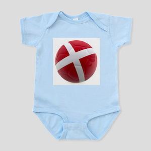 Denmark World Cup Ball Infant Bodysuit