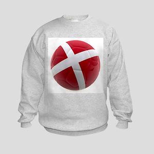 Denmark World Cup Ball Kids Sweatshirt