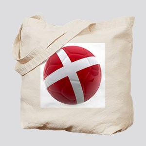 Denmark World Cup Ball Tote Bag