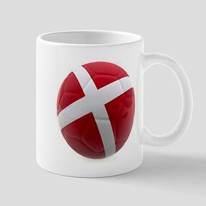 Denmark World Cup Ball Mug