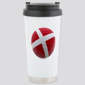 Denmark World Cup Ball Stainless Steel Travel Mug