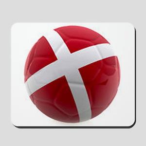 Denmark World Cup Ball Mousepad