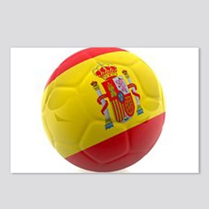 Spain World Cup Ball Postcards (Package of 8)