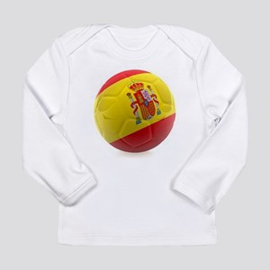 Spain World Cup Ball Long Sleeve Infant T-Shirt