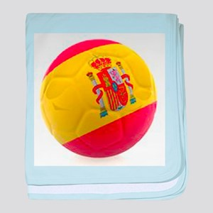 Spain World Cup Ball baby blanket