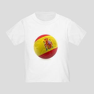 Spain World Cup Ball Toddler T-Shirt
