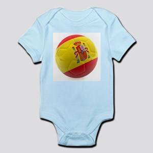Spain World Cup Ball Infant Bodysuit