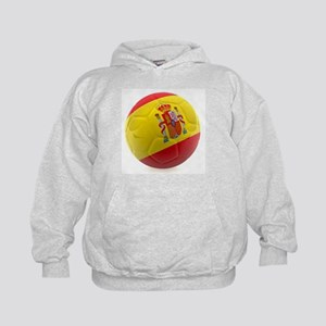 Spain World Cup Ball Kids Hoodie