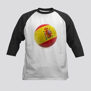 Spain World Cup Ball Kids Baseball Jersey