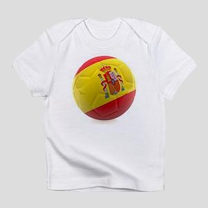 Spain World Cup Ball Infant T-Shirt