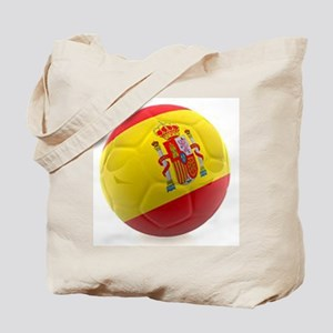 Spain World Cup Ball Tote Bag