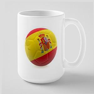 Spain World Cup Ball Large Mug