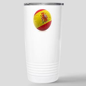 Spain World Cup Ball Stainless Steel Travel Mug