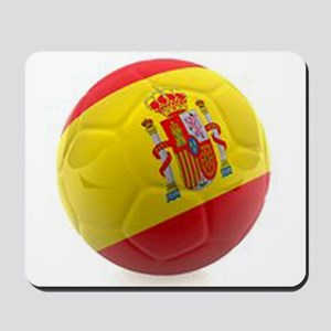 Spain World Cup Ball Mousepad