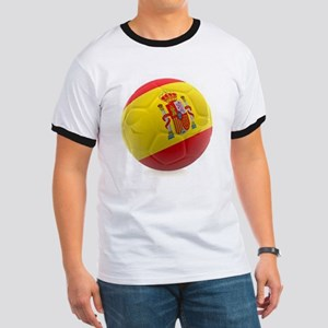 Spain World Cup Ball Ringer T