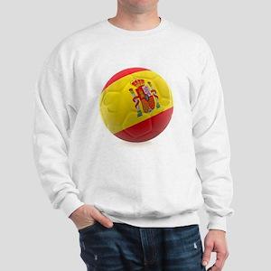 Spain World Cup Ball Sweatshirt