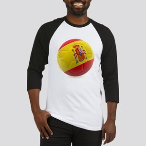 Spain World Cup Ball Baseball Jersey
