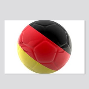 Germany World Cup Ball Postcards (Package of 8)