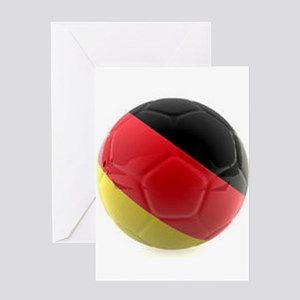 Germany World Cup Ball Greeting Card