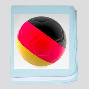 Germany World Cup Ball baby blanket