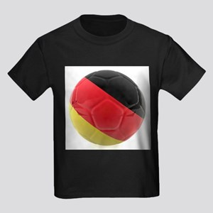 Germany World Cup Ball Kids Dark T-Shirt